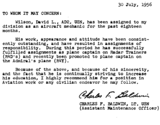 sample of reference letter nas millington aviation dave s weblog 1955